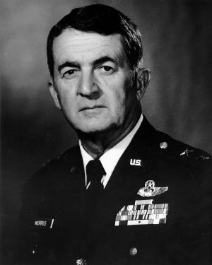 The Air National Guard base at the Tucson International Airport has been renamed in honor of Maj. Gen. Donald Morris, the first and longest serving commander of the installation.