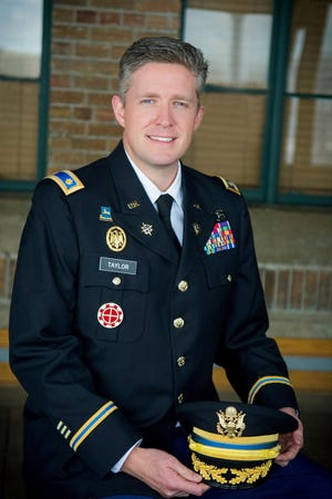This undated photo provided by the Utah National Guard shows Maj. Brent Taylor of the Utah National Guard. Taylor, mayor of North Ogden, died in Afghanistan on Nov. 3, 2018, City Councilman Phillip Swanson said. Taylor was deployed to Afghanistan in January with the Utah National Guard for what was expected to be a 12-month tour of duty. Taylor previously served two tours in Iraq and one tour in Afghanistan.