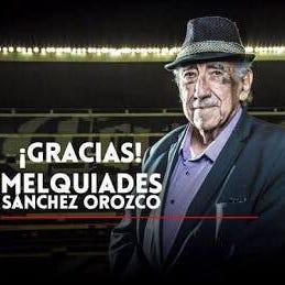Muere Melquiades Sánchez Orozco, la voz del Estadio Azteca