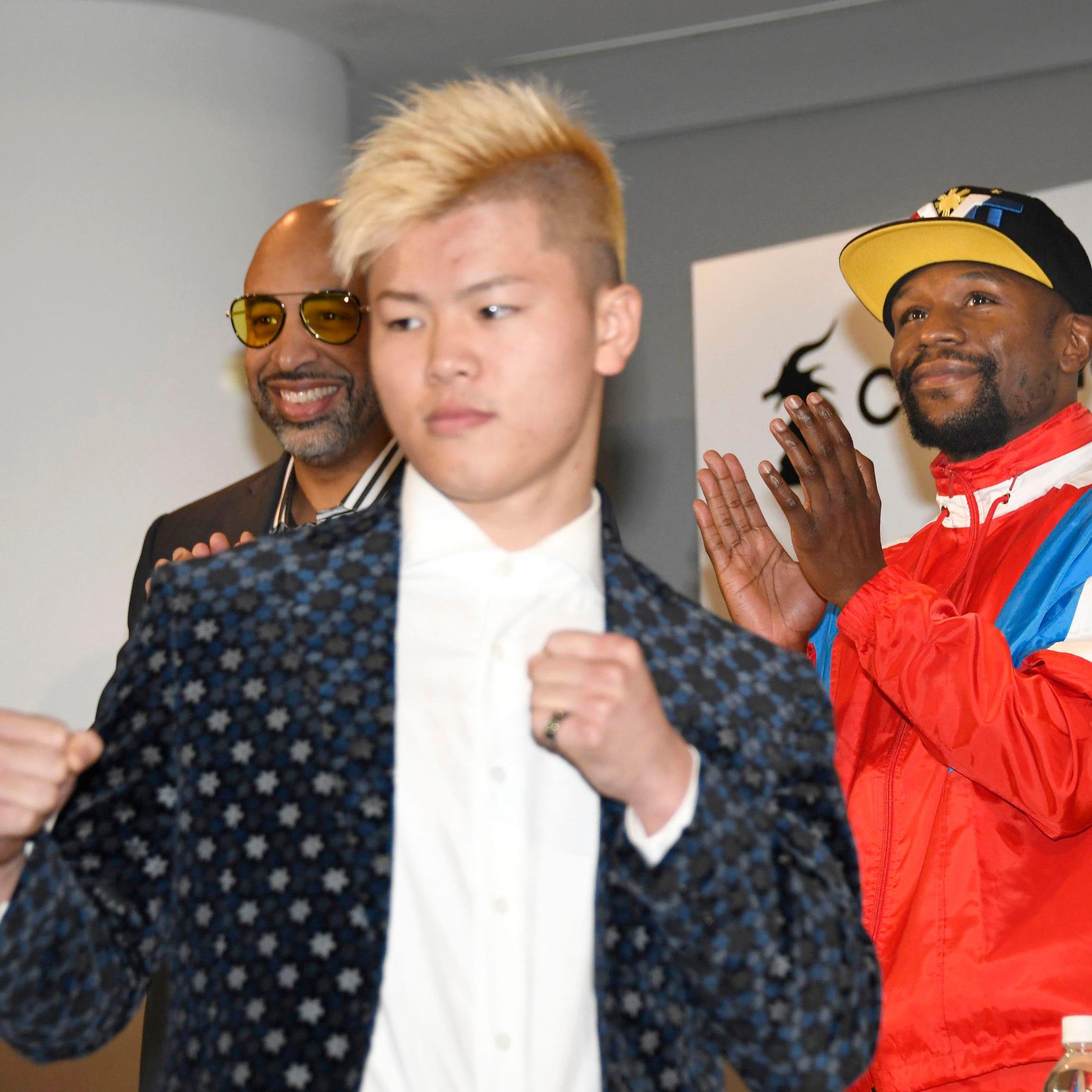 Mayweather enfrentará a japonés en artes marciales mixtas