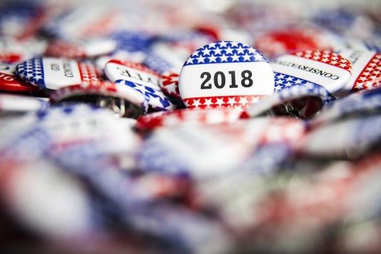 Election Vote Button 2018