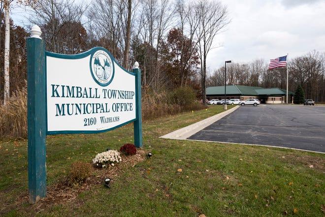 Kimball Township office on Wadhams Road.