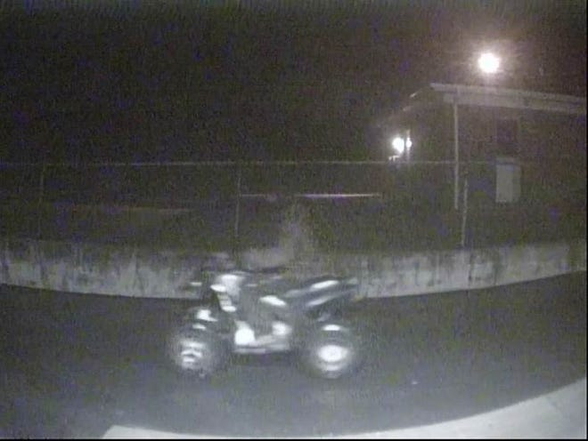 A person on a four-wheeler is wanted by the St. Clair County Sheriff Department in connection to three breaking and entering incidents.