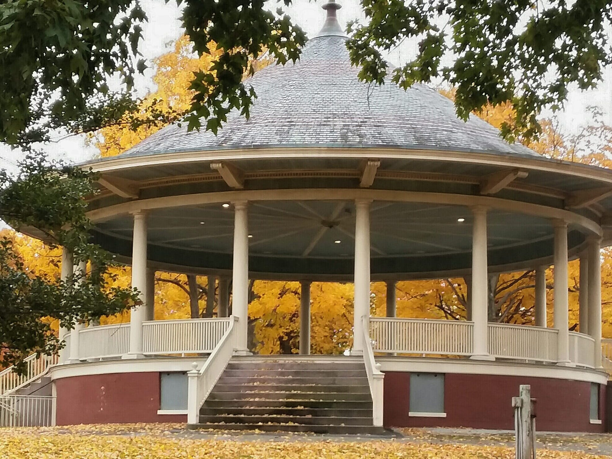 Judy Leckrone shot the bandstand in Farquhar Park.