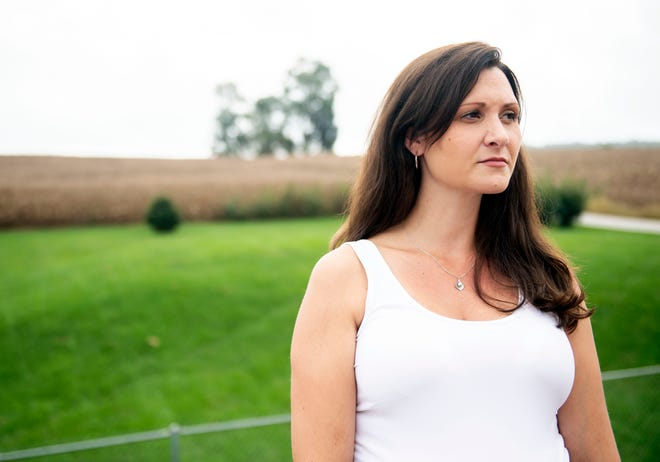 'They used to tell me Jehovah loved me, because he disciplined me,' Sarah Brooks said. She was abused by her sister-in-law and a 'brother' of her Yorkana Kingdom Hall congregation when she was 15.
