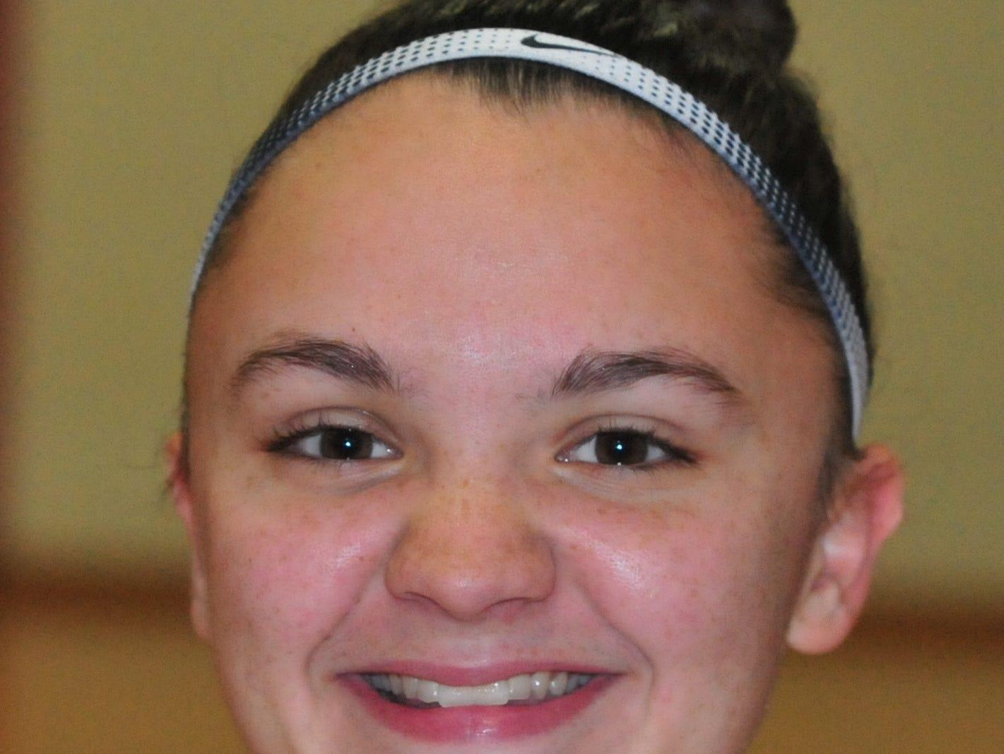 Kelsey Mullins, Richmond High School girls basketball