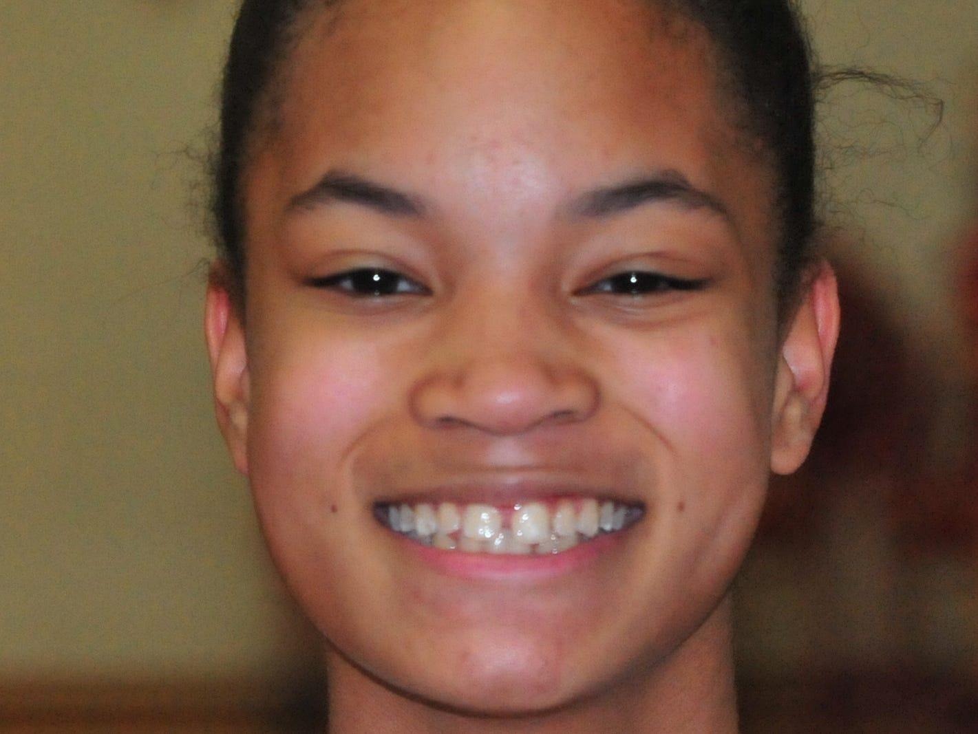 Nyajah Orr, Richmond High School girls basketball