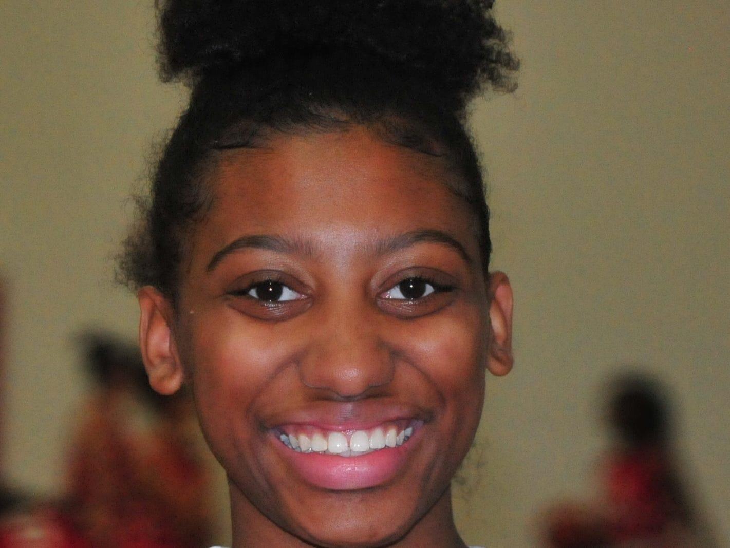 Jayci Allen, Richmond High School girls basketball