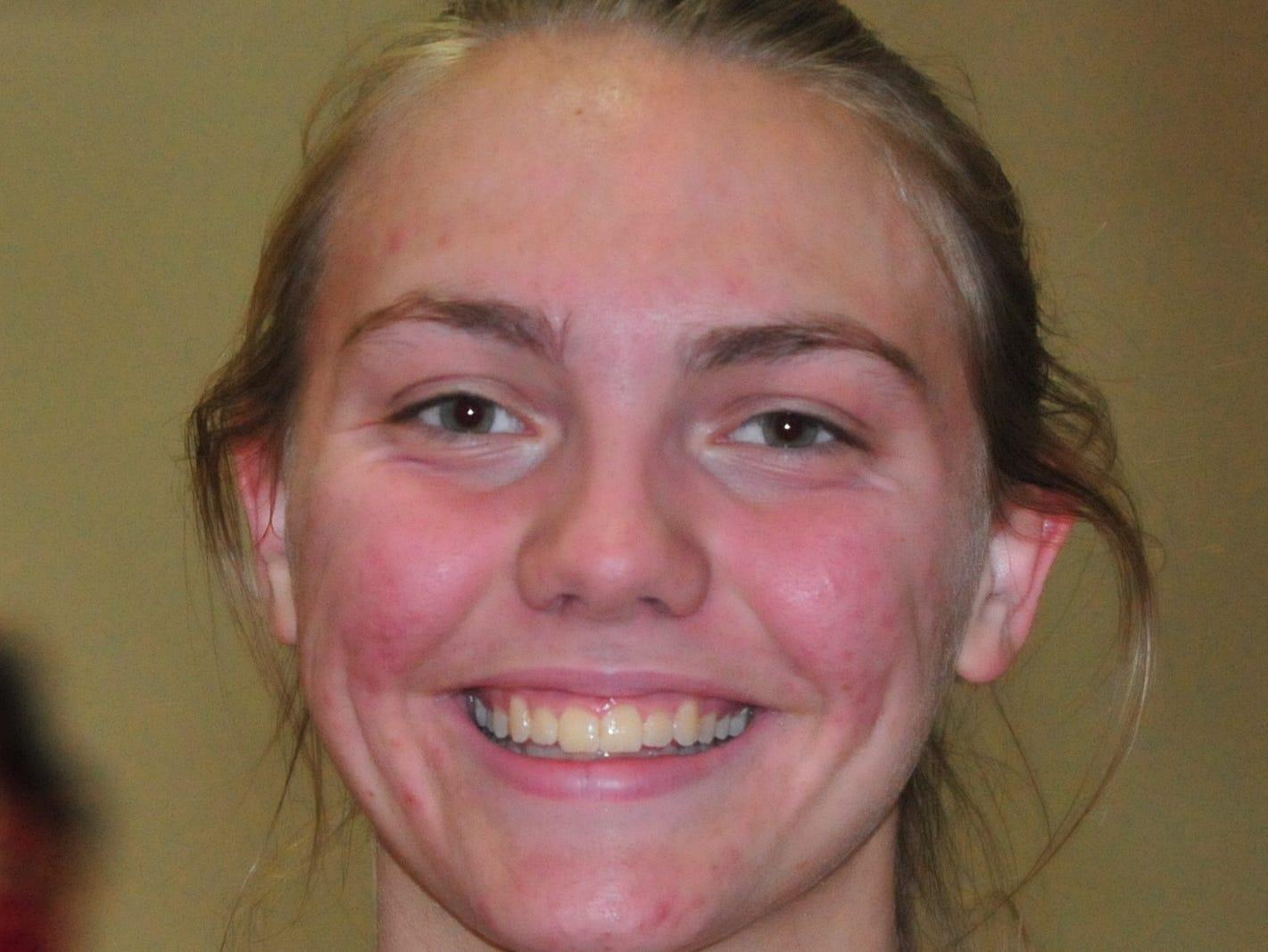 Abby Brewer, Richmond High School girls basketball