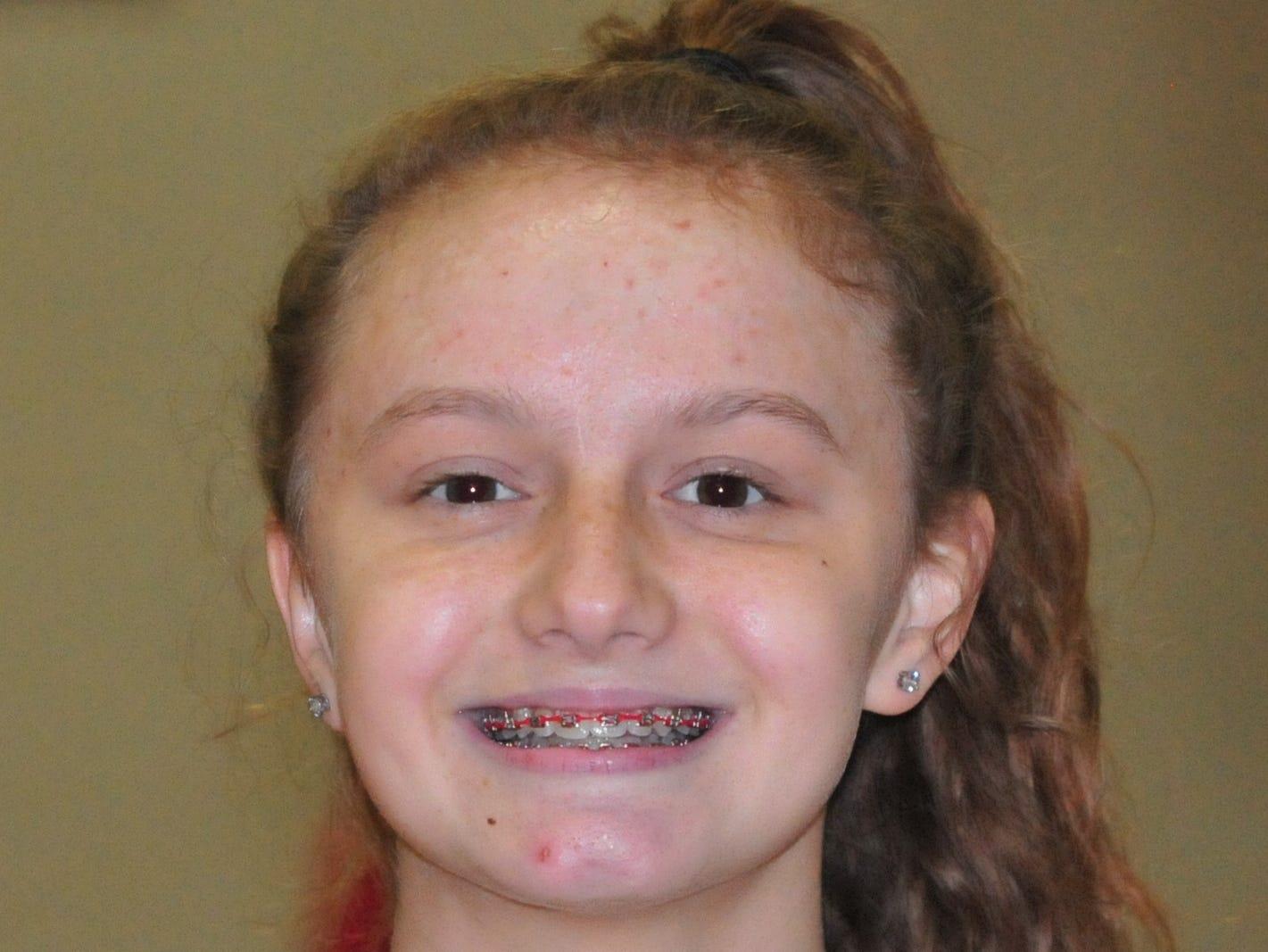 Kenzie Wert, Richmond High School girls basketball