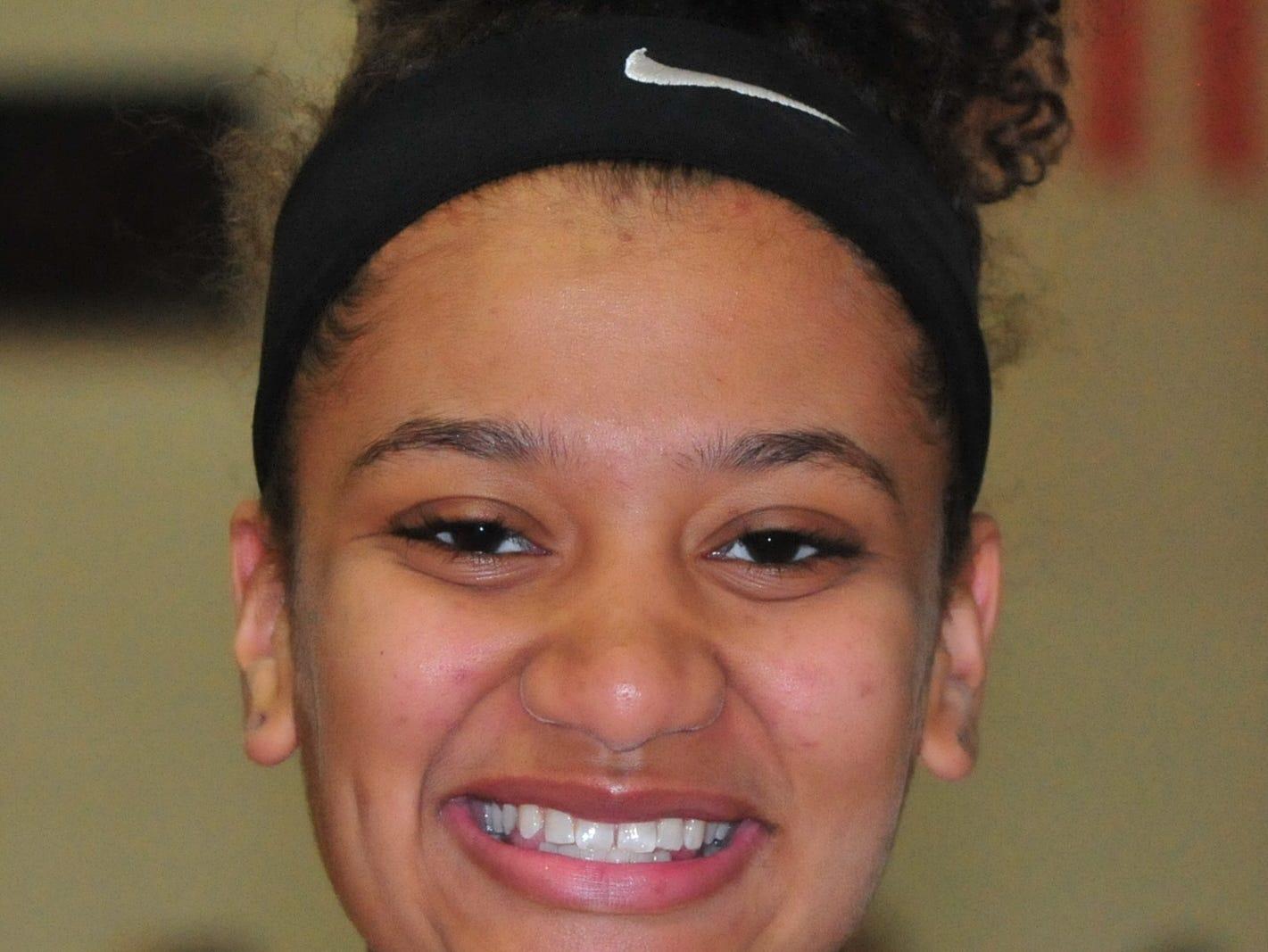 Alayha Allen, Richmond High School girls basketball
