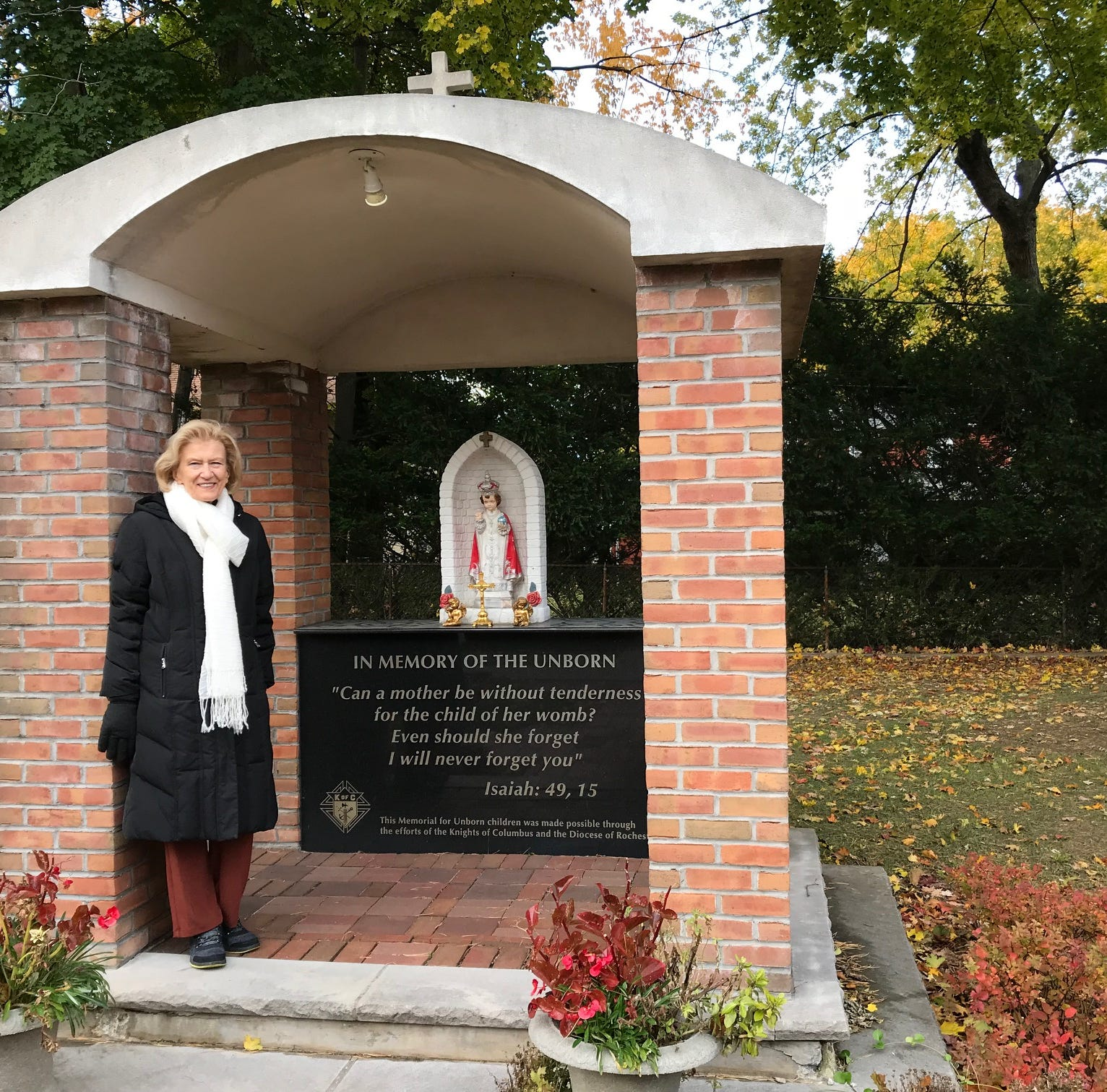 Andreatta: Pro-life monument at polling site rankles voter