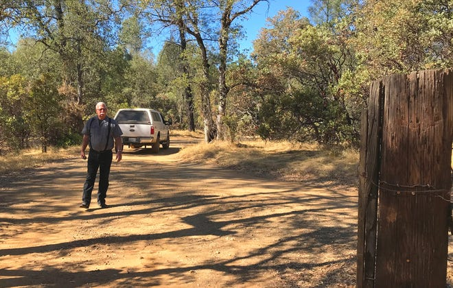 Arnold Sargent is fighting the U.S. Bureau of Land Management over a requirement that he get a right-of-way permit for his land and pay a fee to use the road to his property west of Redding.