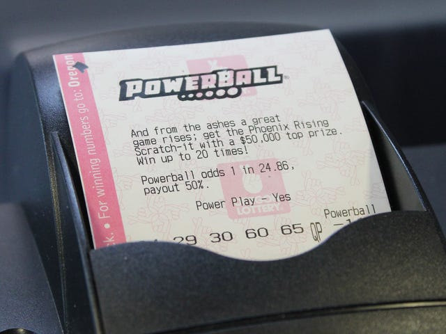 Powerball Last 6 Months
