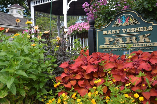 Lewes in Bloom's work at Mary Vessels Park.