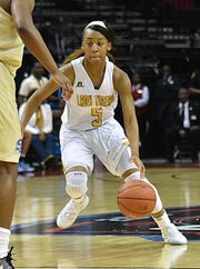 Shakyla Hill broke the SWAC record for career steals Saturday.