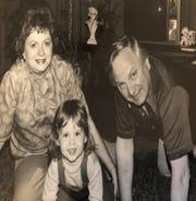 Bob Lyons with family.