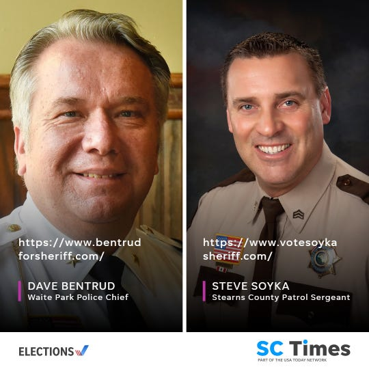 Stearns County sheriff candidates