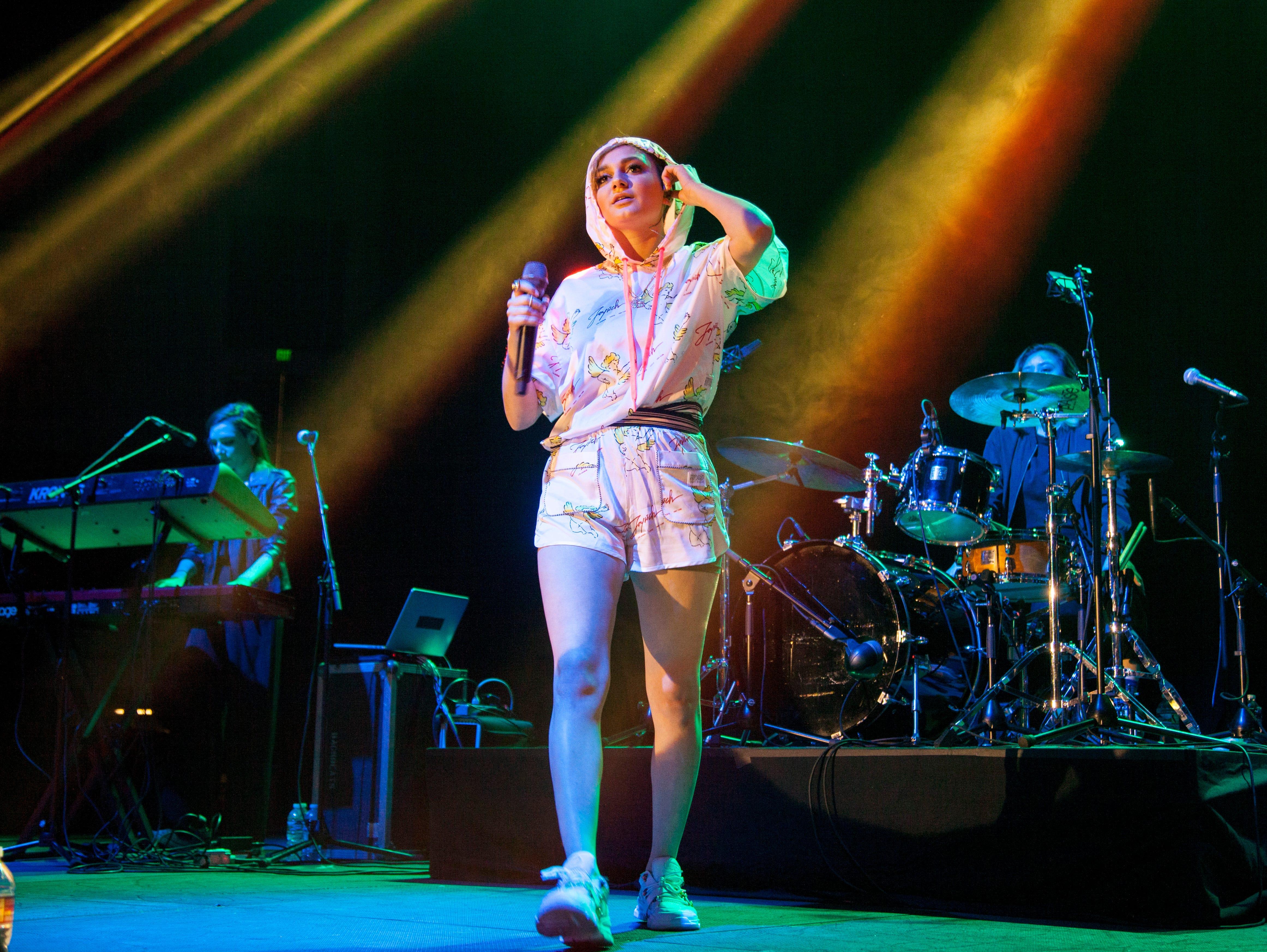 Daya performs at the DSU Burns Arena Friday, Nov. 2, 2018.