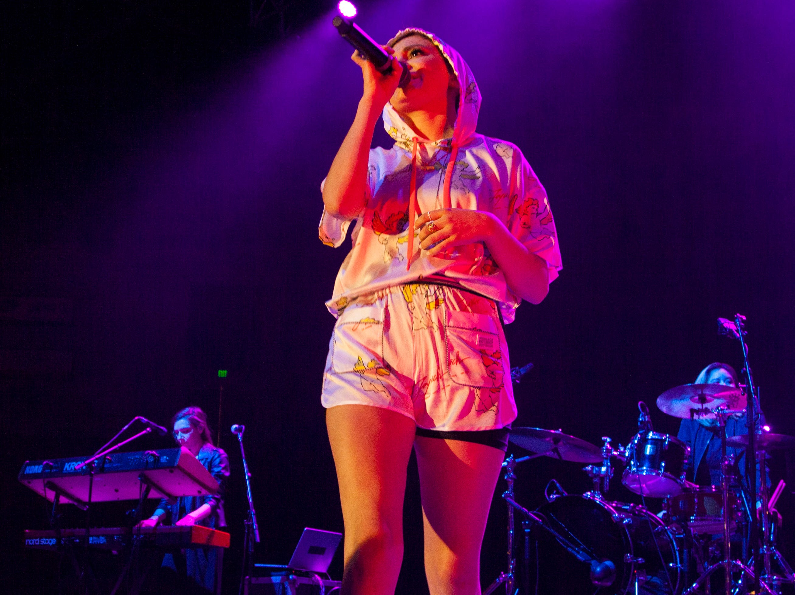 Daya performs at the DSU Burns Arena Friday, Nov. 2, 2018.