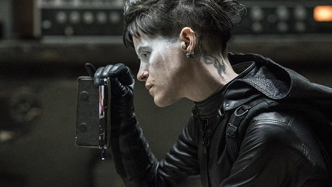 """Claire Foy takes the lead role in the thriller """"The Girl in the Spider's Web,"""" opening Friday."""