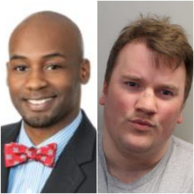 Myron May, left, opened fire in Strozier Library in November 2014.  Scott Beierle, right, fired into a class at Hot Yoga Tallahassee on Friday.