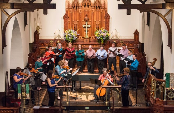 The Tallahassee Bach Parley instrumentalists and the Bach Parley Chamber Singers will perform in a concert on Nov. 11.
