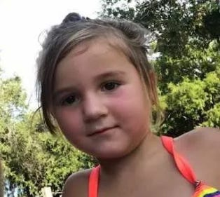Preslie, 3, was shot in the head