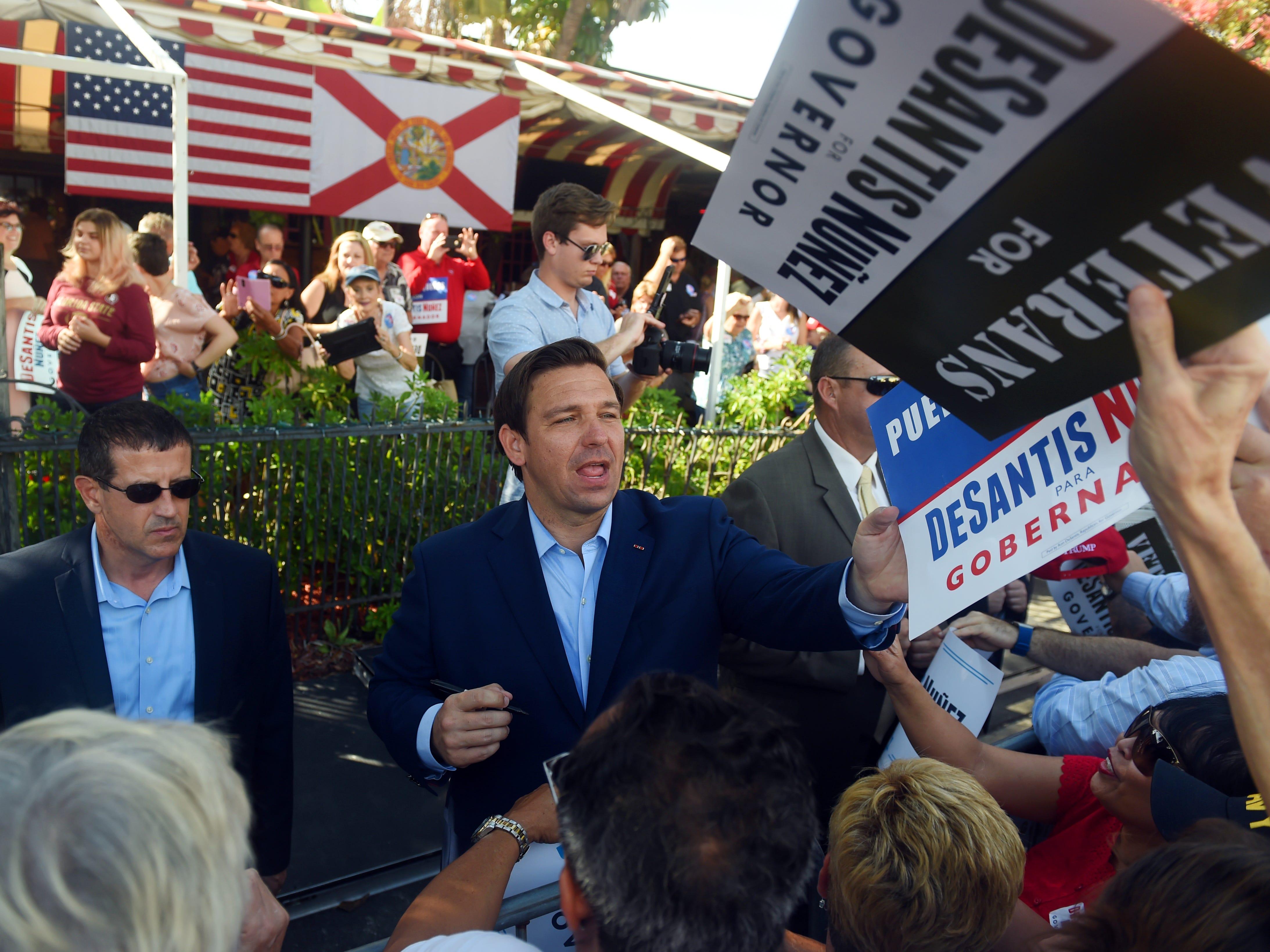 Florida Governor-elect Ron DeSantis plans 'Thank You' tour