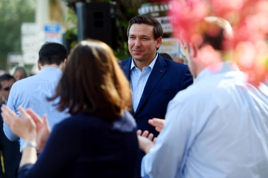 Gov. Ron DeSantis visited Vero Beach in November for a rally to support Republican candidates.