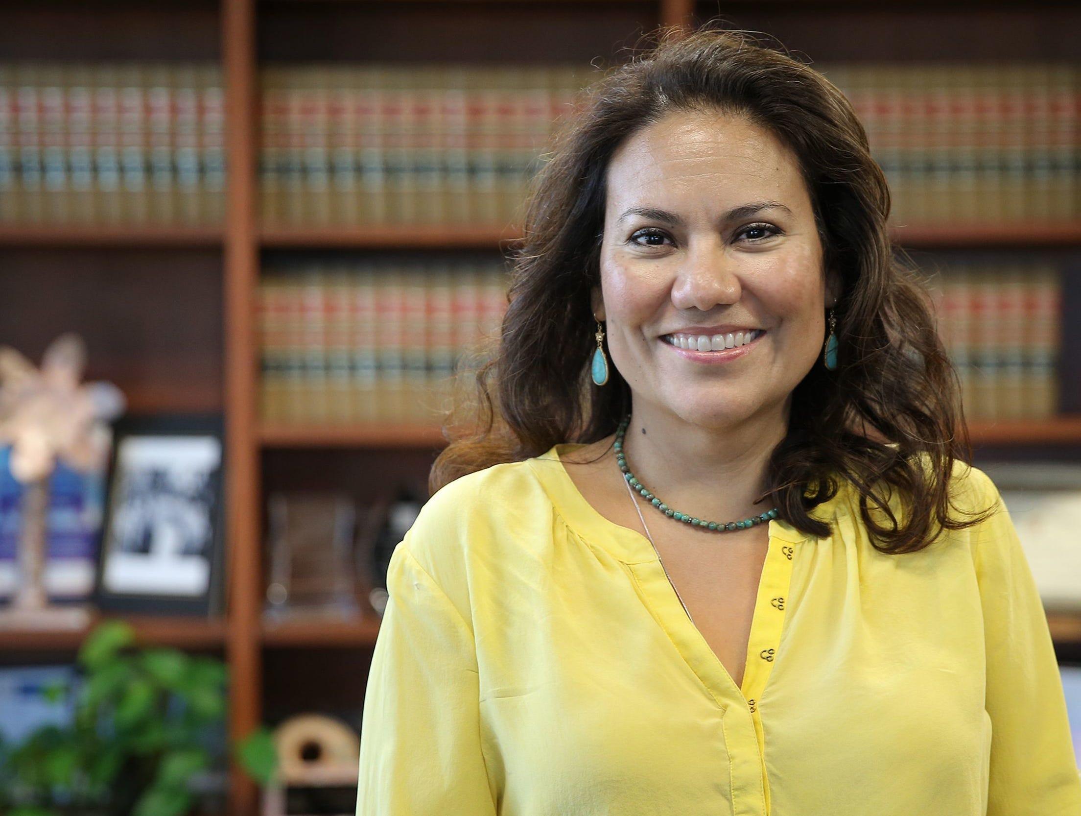 Former County Judge Veronica Escobar.