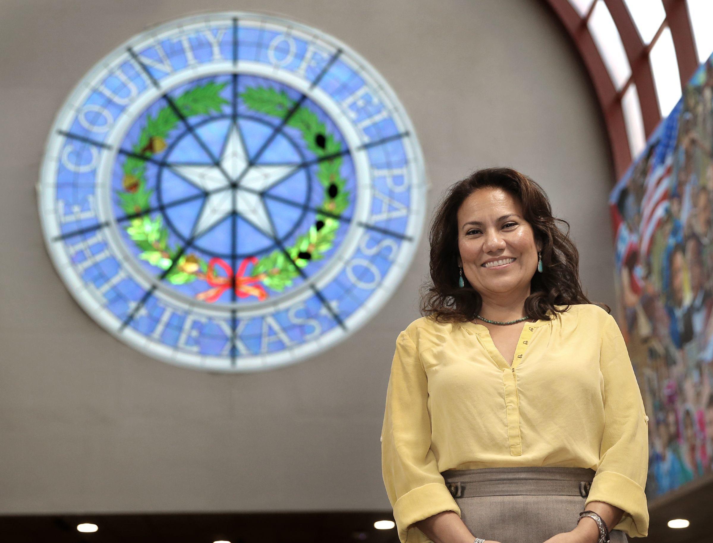 El Paso County Judge Veronica Escobar announced her resignation in late August.