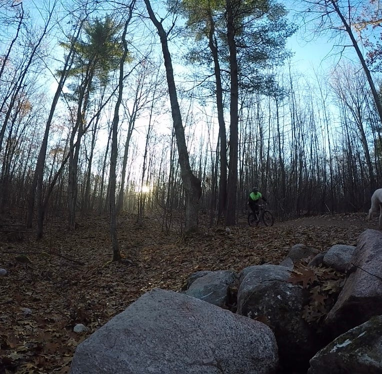 Ringle single-track mountain bike trails open in time for the winter fat tire season