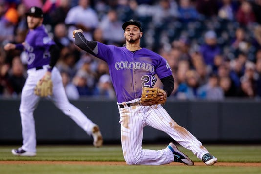 Mlb Milwaukee Brewers At Colorado Rockies