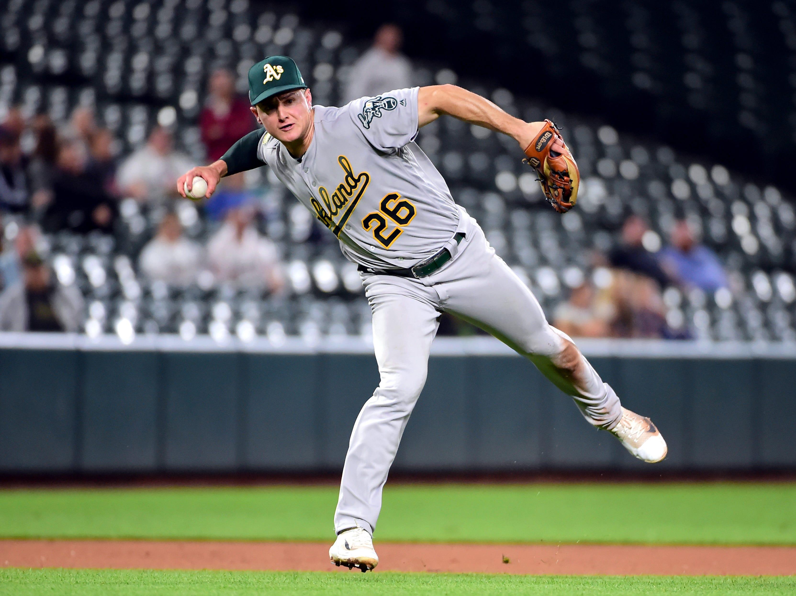 AL 3B – Matt Chapman, Athletics (first)