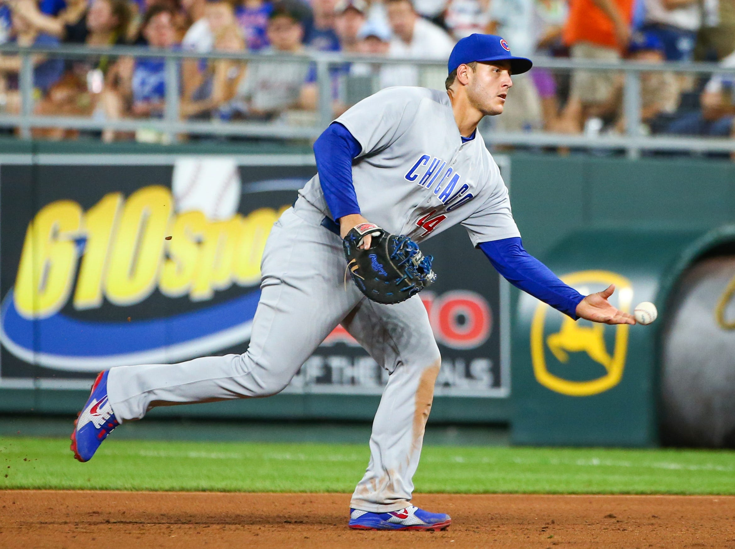 NL 1B (tie) – Anthony Rizzo, Cubs (second)