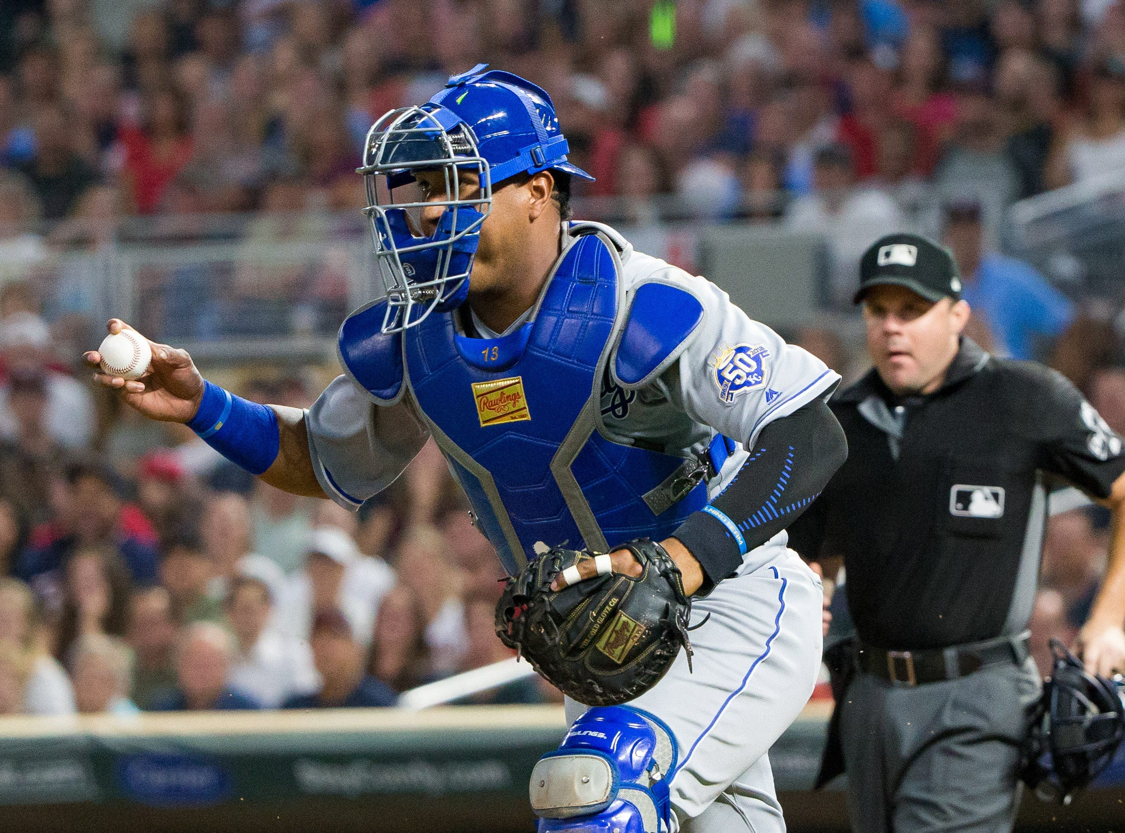 AL Catcher – Salvador Perez, Royals (fifth)