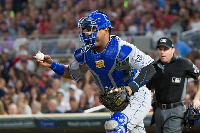 AL Catcher – Salvador Perez, Royals (fifth)