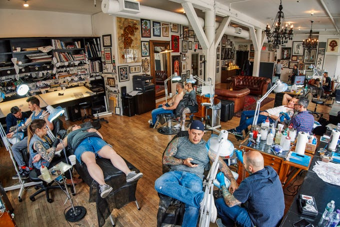 Even in a competitive city like New York, Kings Avenue Tattoo stands out for having top artists and great customer service. A second location in Long Island is equally popular.