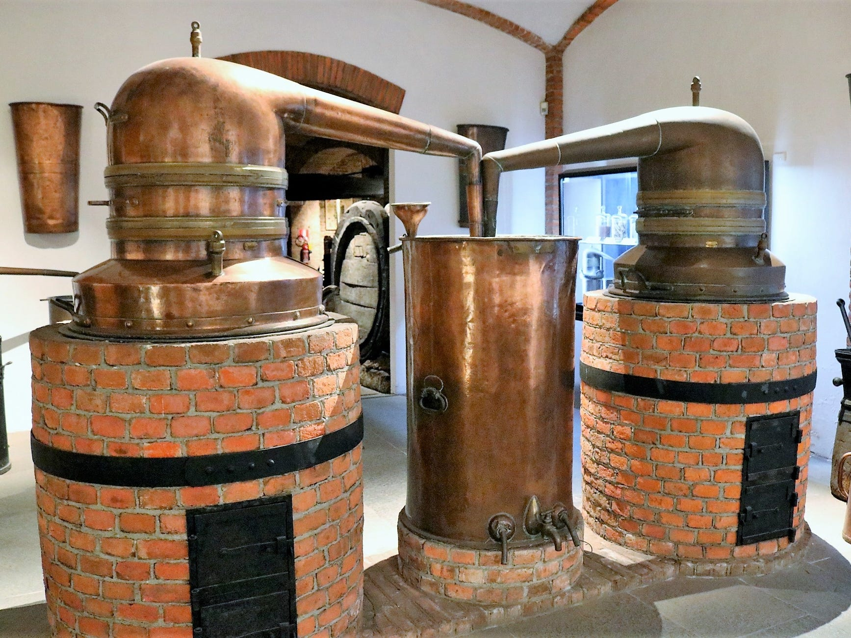 """Artifacts include wine presses, transportation vessels, glassware and even copper pot stills. """"Wine is the living ingredient of Martini, the most important ingredient,"""" Fanciotto says. Any exploration of the brand therefore should start with an exploration of this ingredient."""