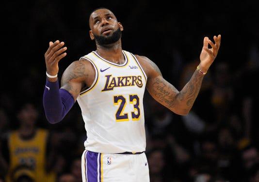 Nba Toronto Raptors At Los Angeles Lakers