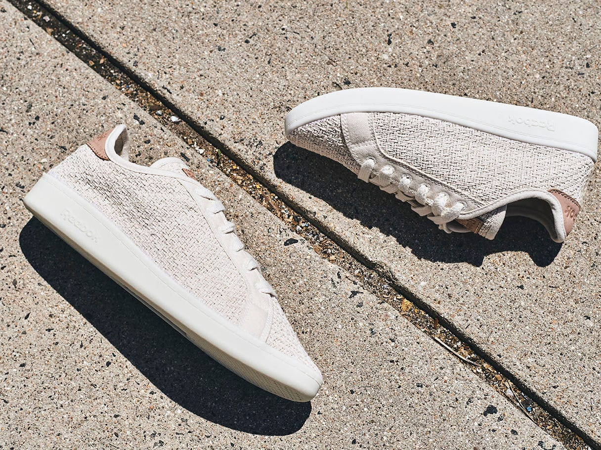 Reebok says the corn-based soles of its new Cotton + Corn shoes are just as sturdy as soles made from petroleum-based material.