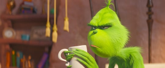 Benedict Cumberbatch can relate to the Grinch's Christmas mood: He's worked in retail at the holidays.