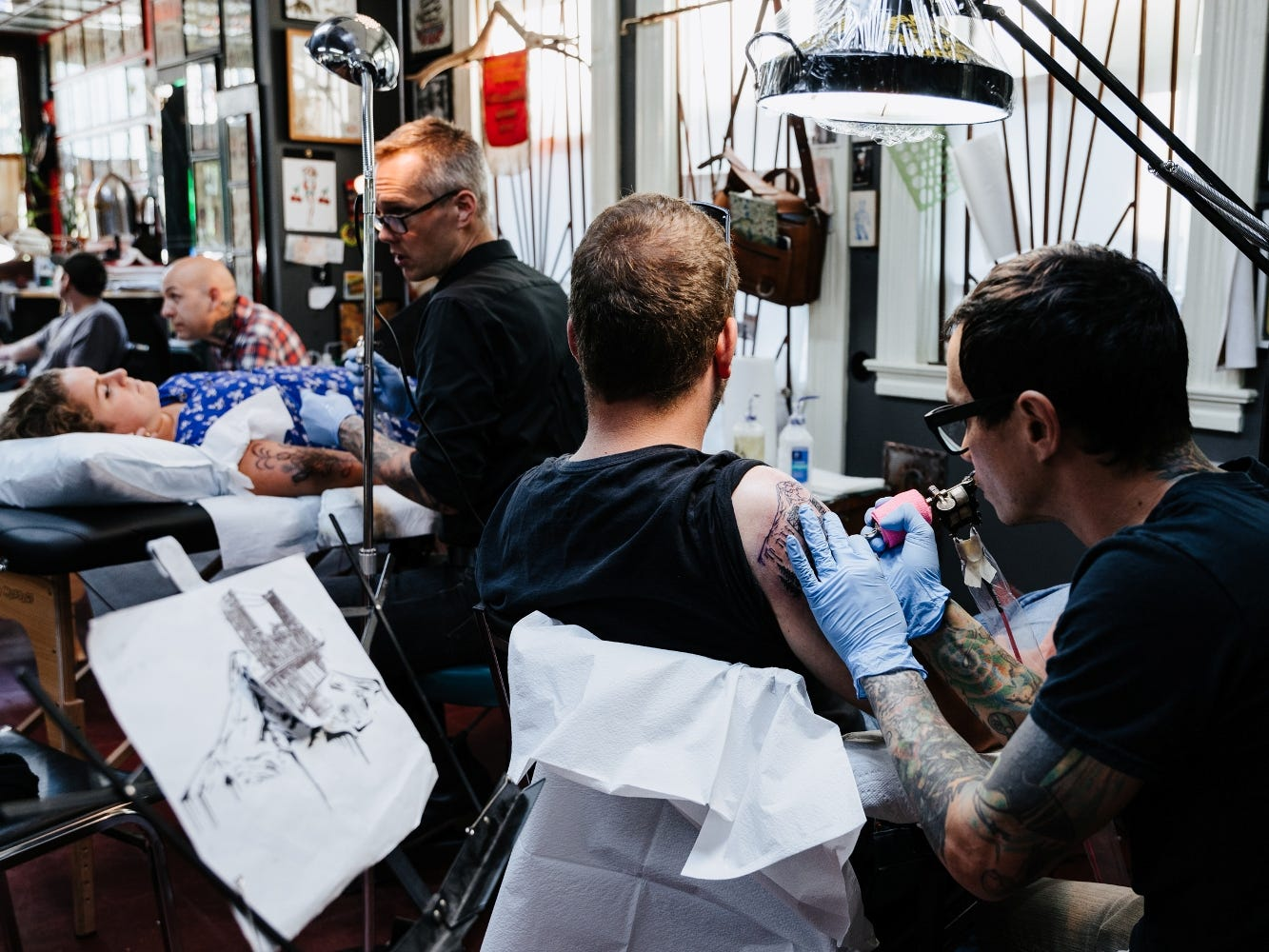 Portland, Oregon, can seem like it has a tattoo parlor on every corner, which makes Atlas all the more remarkable because it continues to be one of the city's top shops.