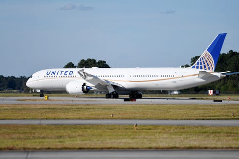 United Airlines: Boeing 787-10 will fly to six international cities