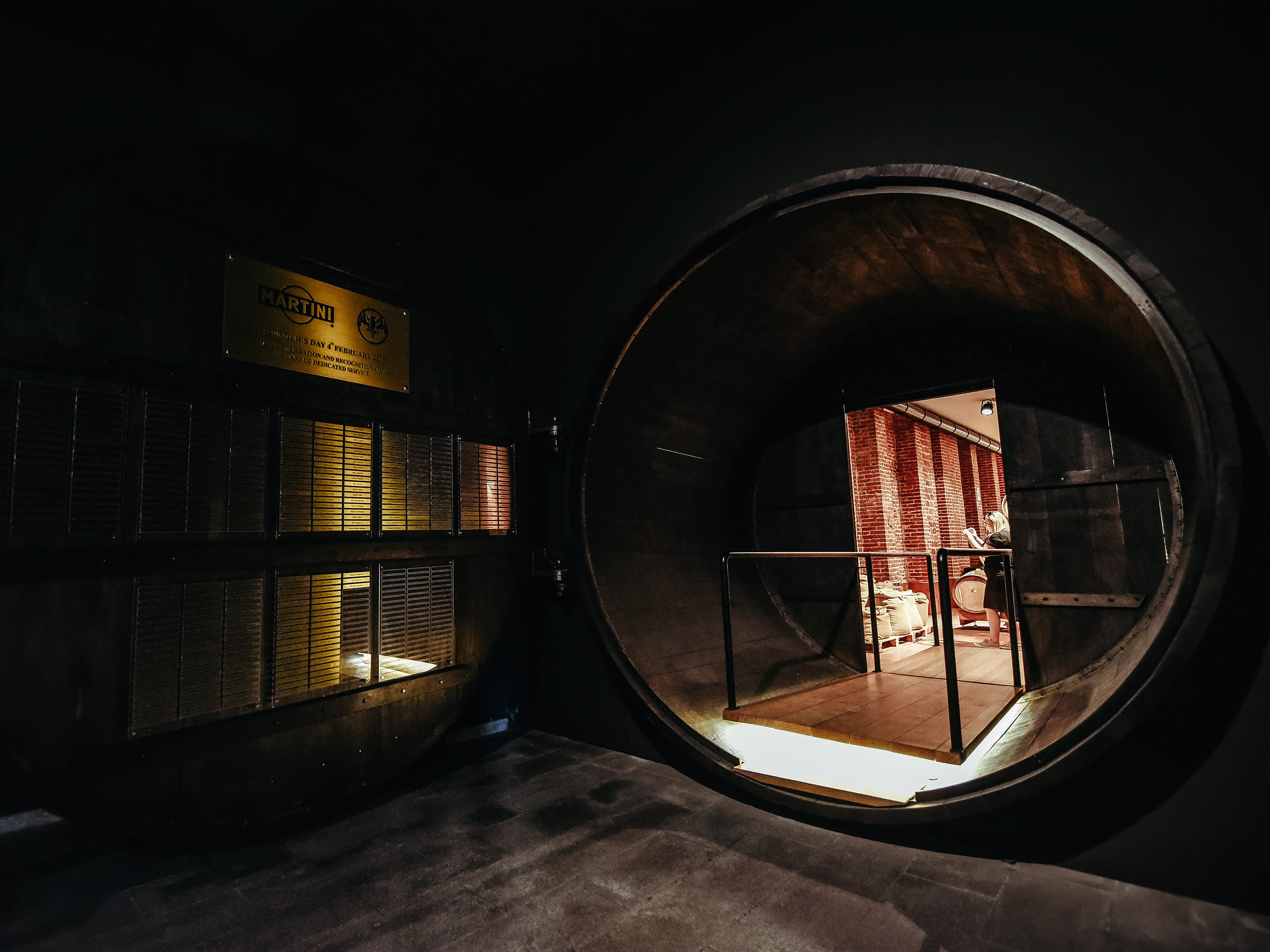 Step through the vault entrance to discover even more secrets about the world of vermouth. Tickets to Casa Martini optionally include activities such as cocktail courses and vermouth blending.
