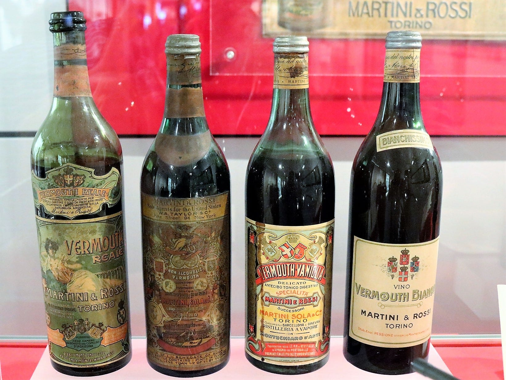 """""""The label was really the first communication tool,"""" Fanciotto says. Notably, the label began incorporating the Savoy coat of arms from King Vittorio Emanuele II in 1868."""