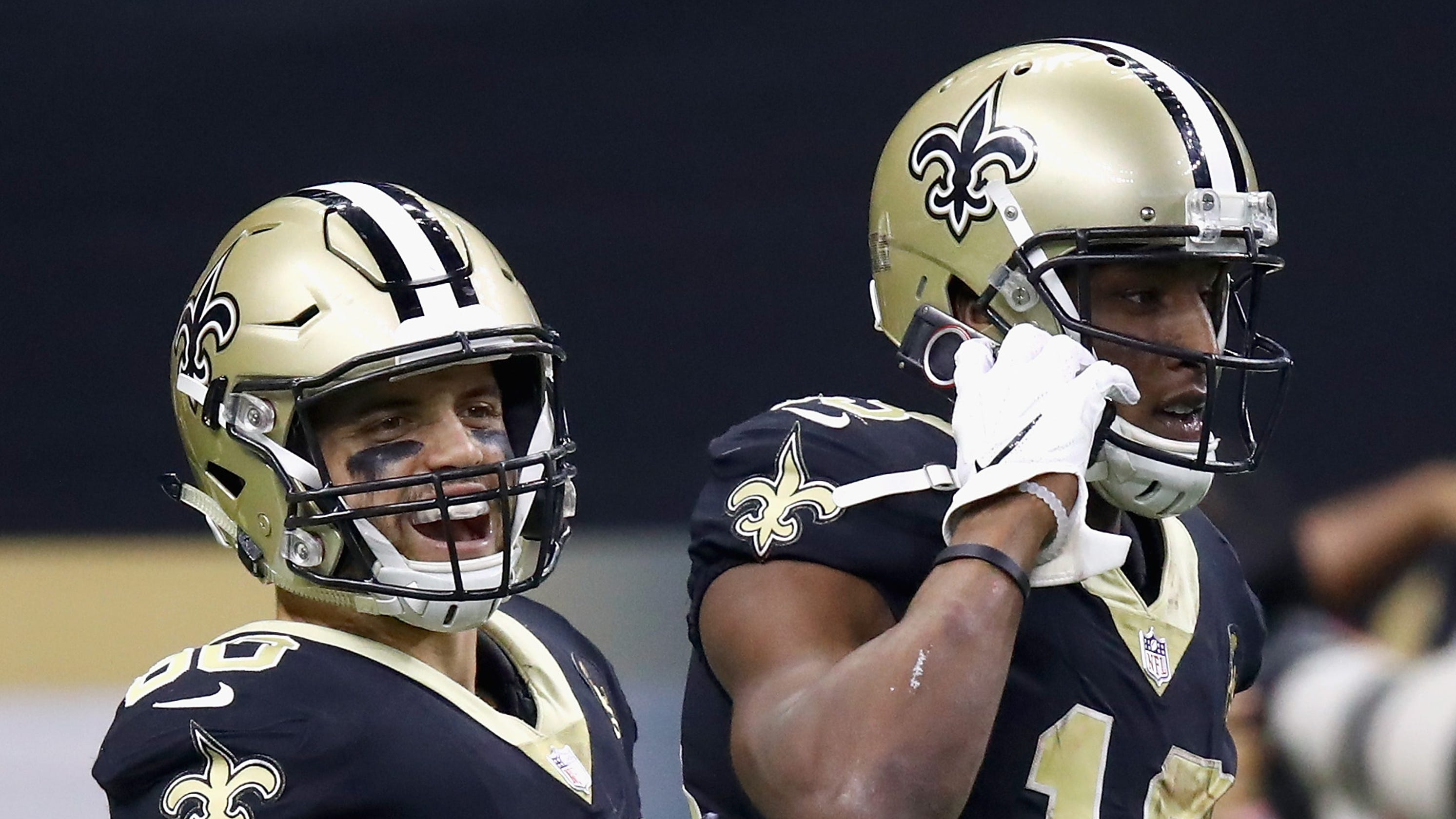 Michael Thomas replicates ex-Saints WR Joe Horn s famous cellphone  celebration vs. Rams 4a6c9eca3