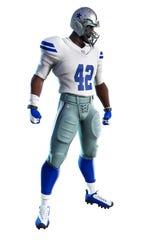 Dallas Cowboys uniform in Fortnite.
