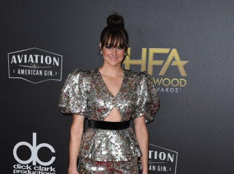 Actress Shailene Woodley arrives for the 22nd Annual Hollywood Film Awards at the Beverly Hilton hotel in Beverly Hills on November 4, 2018. (Photo by Mark RALSTON / AFP)MARK RALSTON/AFP/Getty Images ORG XMIT: 22nd Annu ORIG FILE ID: AFP_1AK84K